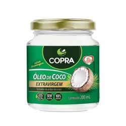 ÓLEO DE COCO EXTRA VIRGEM - 200ml - COPRA