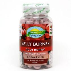 SECA BARRIGA GOJI BERRY - 180 comprimidos de 800mg - NUTRIGOLD
