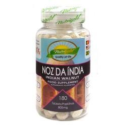 SUPER FARINHA NOZ DA ÍNDIA - 180 comprimidos de 800mg - NUTRIGOLD
