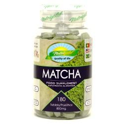 MATCHA - 180 cápsulas de 800mg - NUTRIGOLD