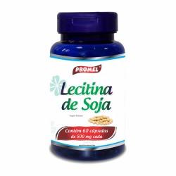 LECITINA DE SOJA - 60 cápsulas de 500mg - PROMEL