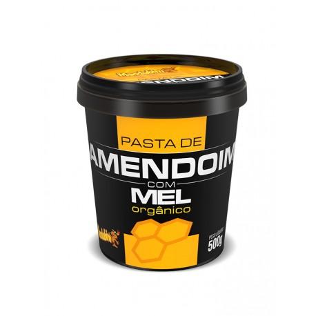 PASTA DE AMENDOIM - 450g MANDUBIM - COM MEL ORGÂNICO
