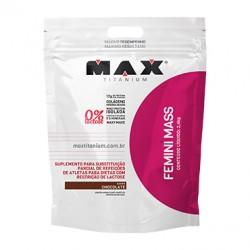 FEMINI MASS - 2,4Kg sabor chocolate - MAX TITANIUM