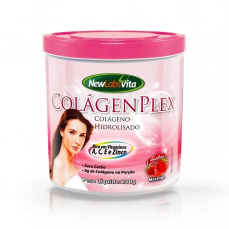 COLÁGENO COLAGENPLEX - sabor morango 200g - NEWLABSVITA
