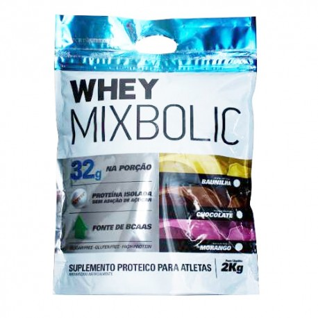 WHEY MIX BOLIC ISOLADO - 2 Kg sabor chocolate - SPORTS NUTRITION